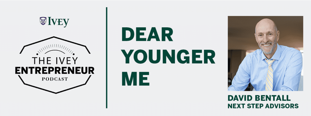 Dear Younger Me Ivey Podcast banner